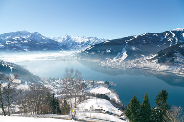 Zell am See - Panorama view