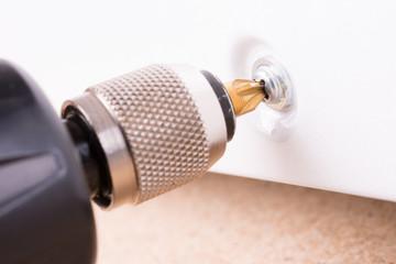 Unscrewing bolt