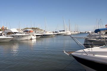 Hafen von Sant Antoni de Portmany