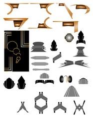 deco art elements