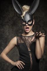 Sexy black rabbit