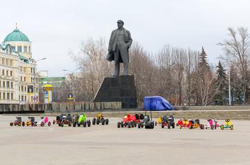 Donetsk, Ukraine, Lenin Square