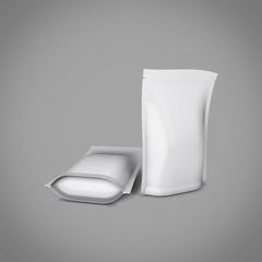 Blank foil or plastic sachet