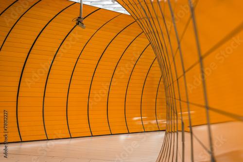 Fotobehang Tunnel Untergrund