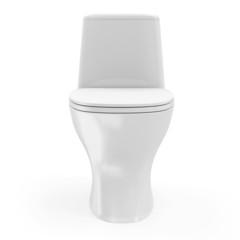 Modern Ceramic Toilet isolated on white background