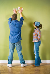 Moving: Couple Trying To Pick Paint Colors