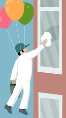 floating window cleaner