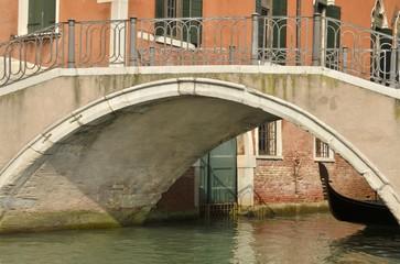Venetian bridge, Italy