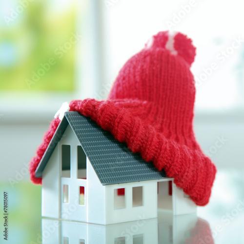 Bliska Czerwone pomponem kapelusz Śliczne Little House