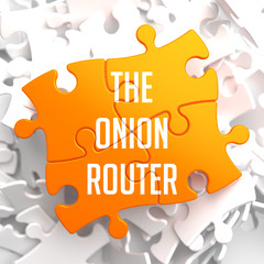 The Onion Router on Orange Puzzle.