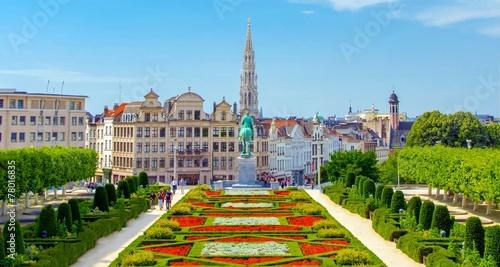 Tuinposter Tuin Bruxelles, Brussels, Belgium, Belgique