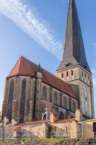 canvas print picture Petrikirche