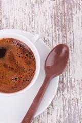 turkish coffee and chocolate