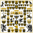 HERALDRY Crests and Symbols - 78018824
