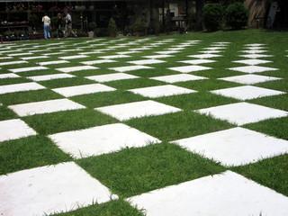 Chão em xadrez