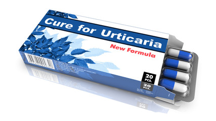 Cure for Urticaria - Blister Pack of Pills.
