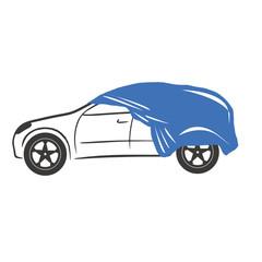 Telo copriauto automobile