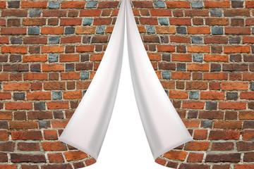 brick cuff on the white background