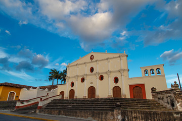church iglesia san francisco outdoors in Granada, Nicaragua