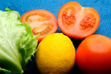 fresh juicy wegetables