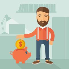 Money savings Concept