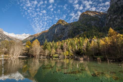 Autumn in Val di Mello Poster