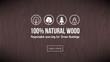 Natural wood - 78022873