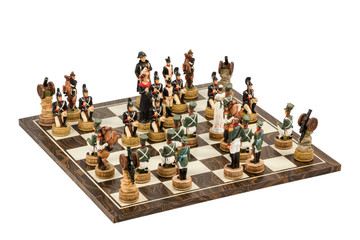Game of chess ornamental