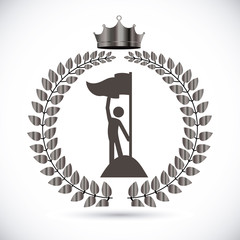 Championship design, vector illustration.