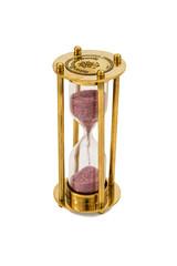 Copper hourglass