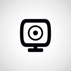 webcam icon.