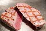 Fish - Grilled Yellowfin Tuna Steaks poster