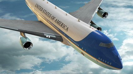 Air Force One Animation