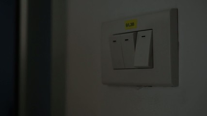 lighting switch off