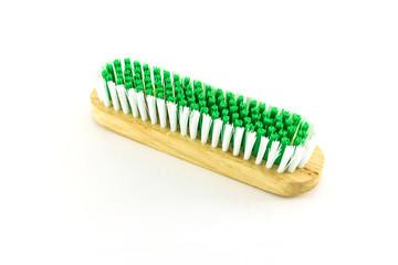wooden scrub brush