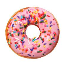 "Постер, картина, фотообои ""Donut with sprinkles isolated"""