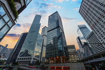Hong Kong stree view