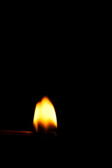 Streichholzflamme II