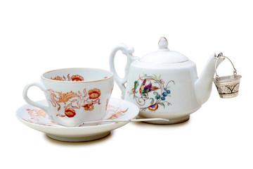 Teapot and cop