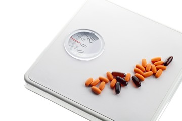 weighing scale and capsule