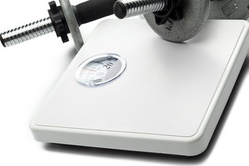 weight scale and hand weights