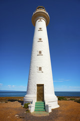 Tall White Lighthouse