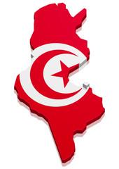 Map Tunesia