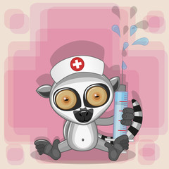Lemur nurse