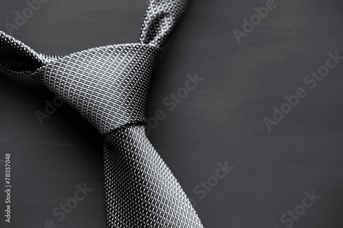 Dark men's tie - 78037048