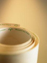 recycle adding machine tape