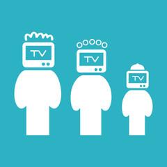 zombie people. TV