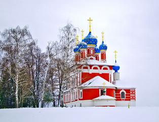 церковь царевича Дмитрия на Крови.