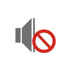 Icono sonido en silencio FB