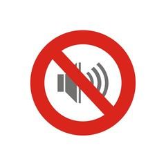 Icono prohibido sonidos FB